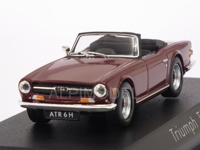 Triumph TR6 1970 (Damson Red) by norev