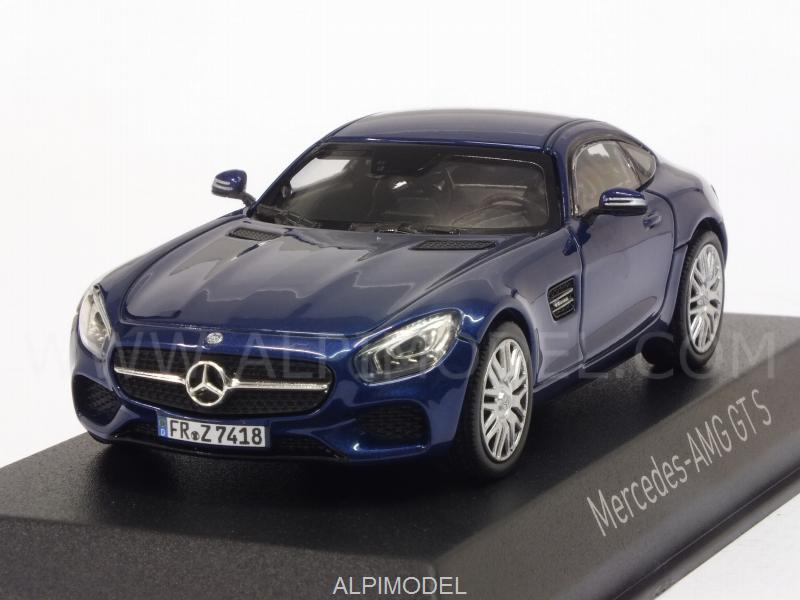 Mercedes AMG GT S 2015 (Blue Metallic) by norev