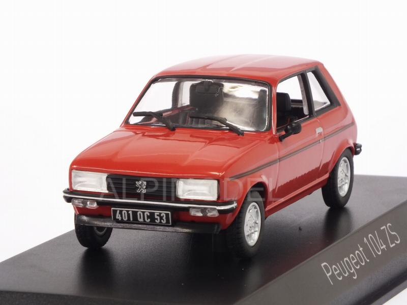 Peugeot 104 ZS 1979 (Persan Red) by norev