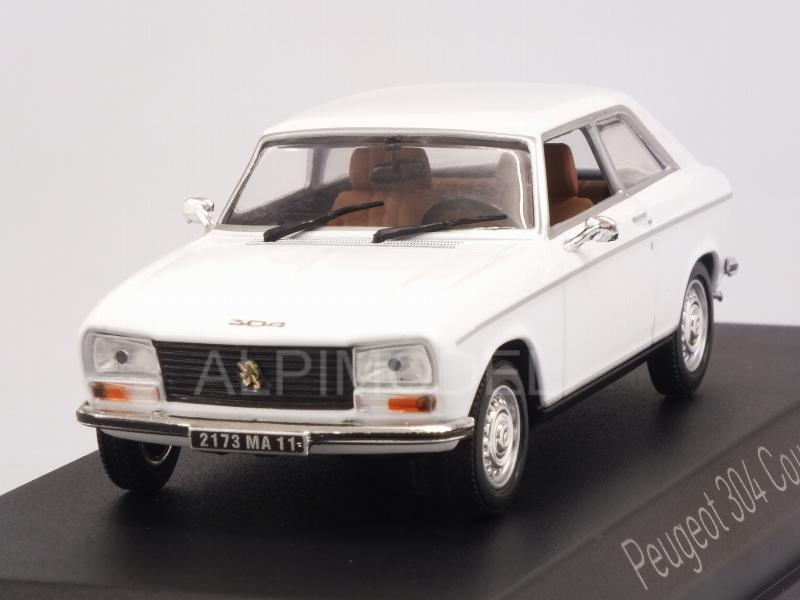 Peugeot 304 Coupe S 1974 (Alaska White) by norev