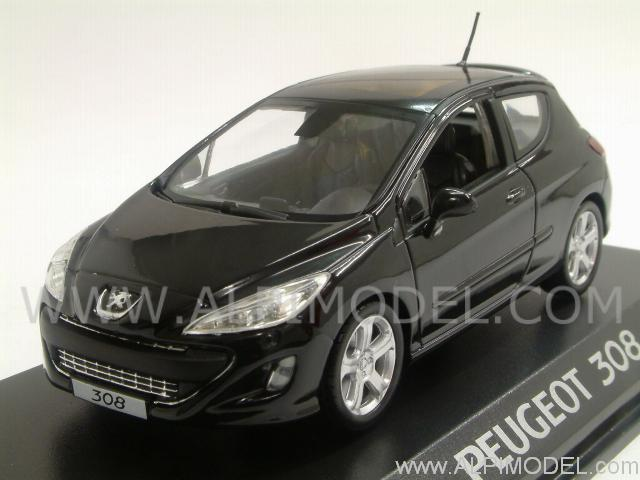 norev peugeot 308 175 thp 2008 1 43 scale model. Black Bedroom Furniture Sets. Home Design Ideas