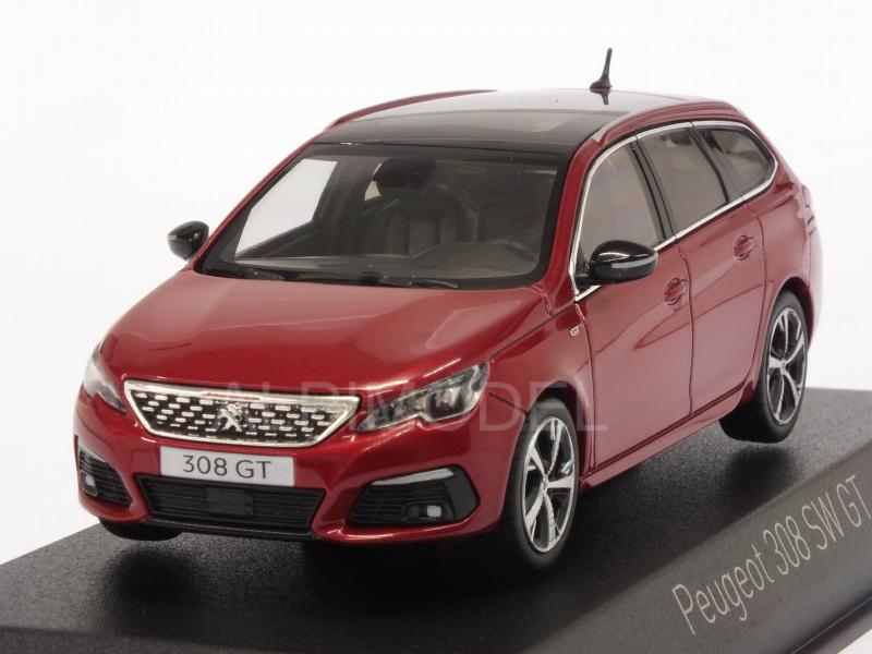 Peugeot 308 SW GT 2017 (Ultimate Red) by norev