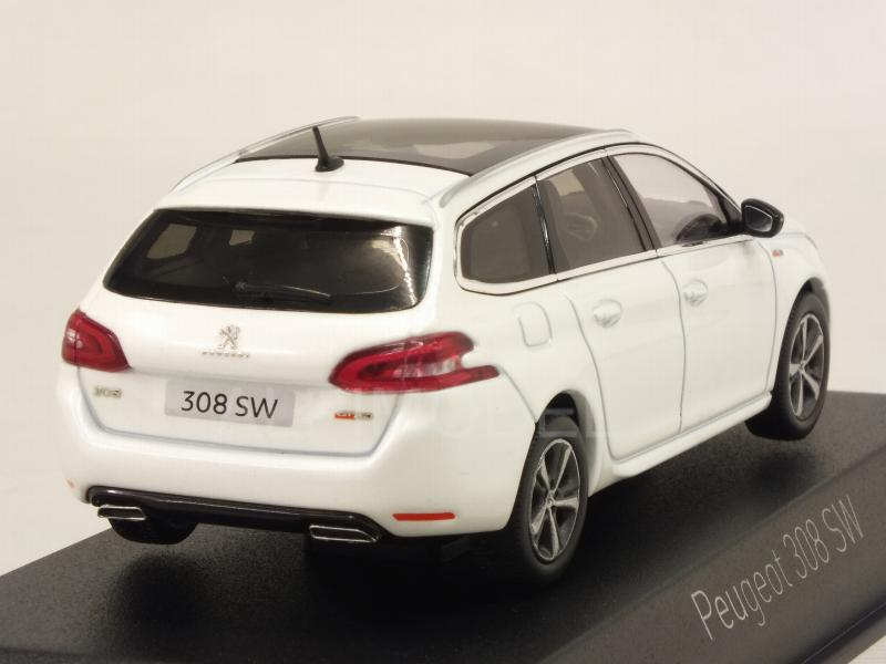 Peugeot 308 SW GT Line 2017 (Pearl White) - norev