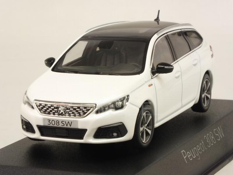 Peugeot 308 SW GT Line 2017 (Pearl White) by norev