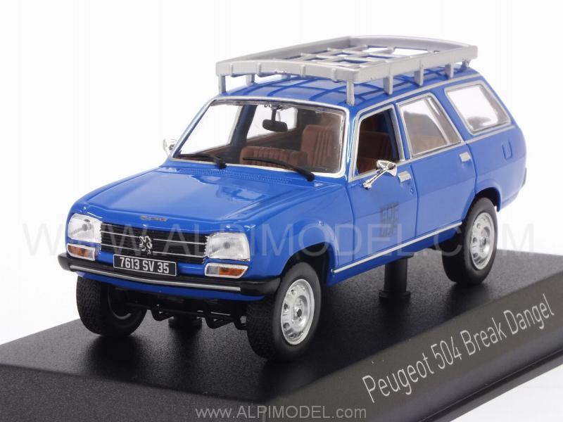 Norev 475423 Peugeot 504 Break Dangel 1982 Edf 1 43