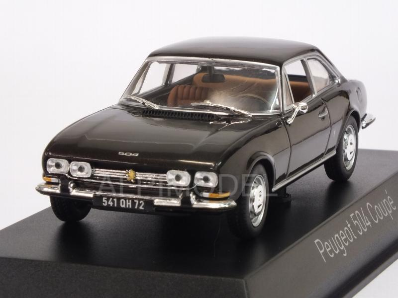 Peugeot 504 Coupe 1969 (Brown Metallic) by norev