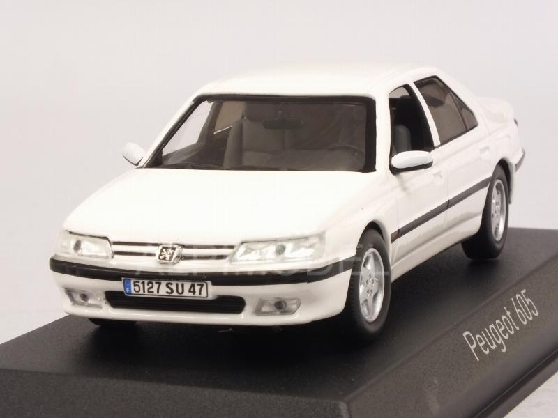 Peugeot 605 1998 (White) by norev