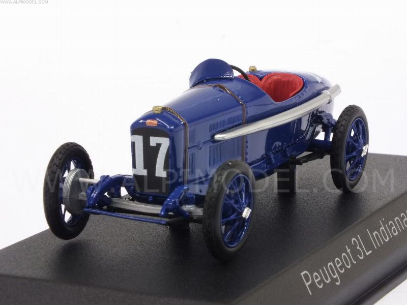 Peugeot 3L #17 Indianapolis 1920 A.Boillot by norev