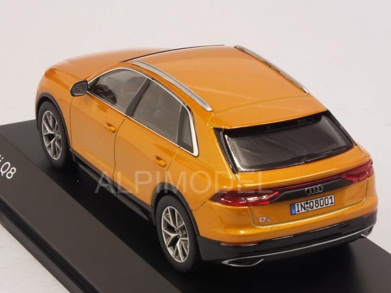 Audi Q8 2018 (Dragon Orange) Audi Promo - norev