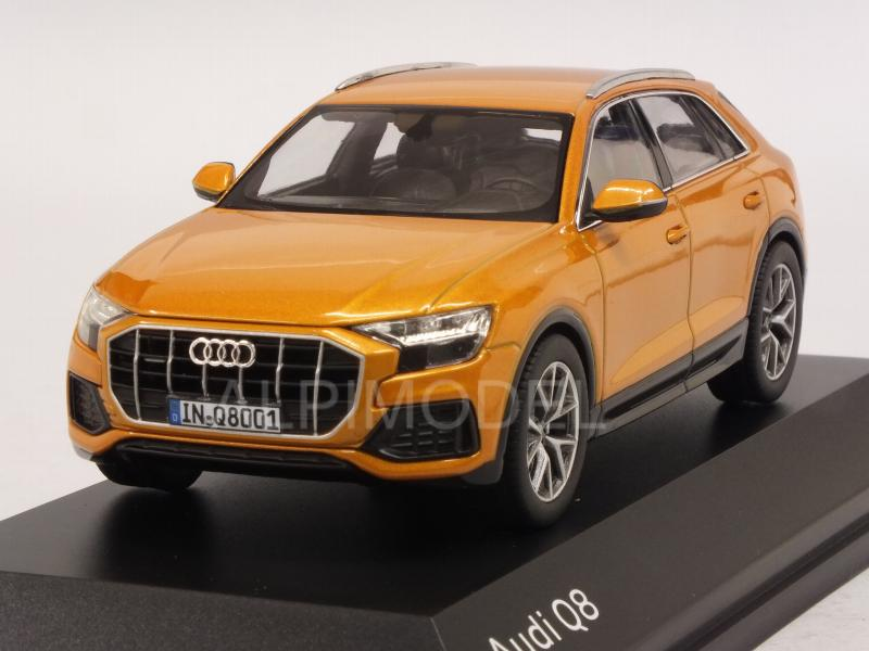 Audi Q8 2018 (Dragon Orange) Audi Promo by norev