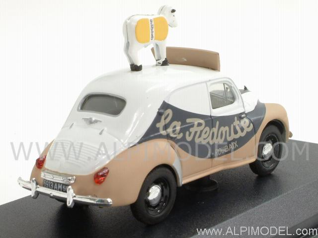 norev renault 4cv 39 laredoute 39 tour de france 1 43 scale. Black Bedroom Furniture Sets. Home Design Ideas