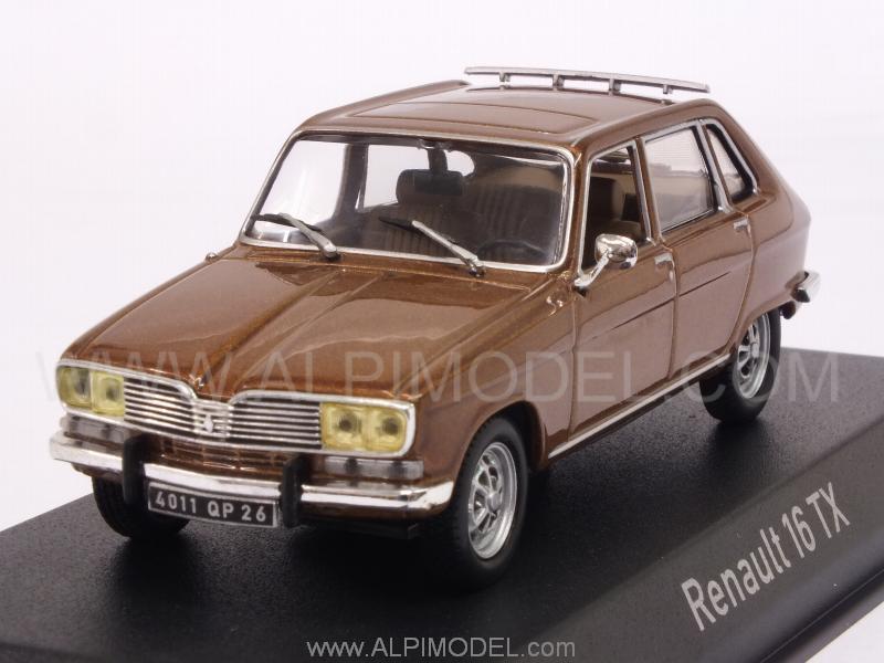 norev 511620 renault 16 tx 1976 brown 1 43. Black Bedroom Furniture Sets. Home Design Ideas