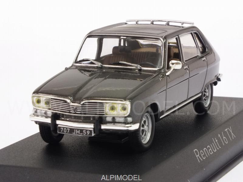 Renault 16 TX 1976 (Elysee Grey Metallic) by norev