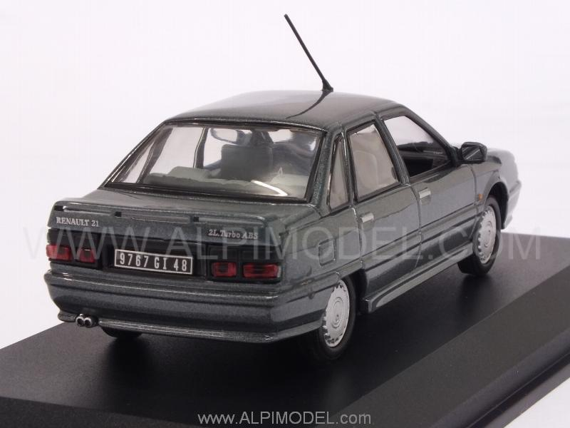 Renault 21 Turbo 1998 (Anthracite Grey Metallic) - norev