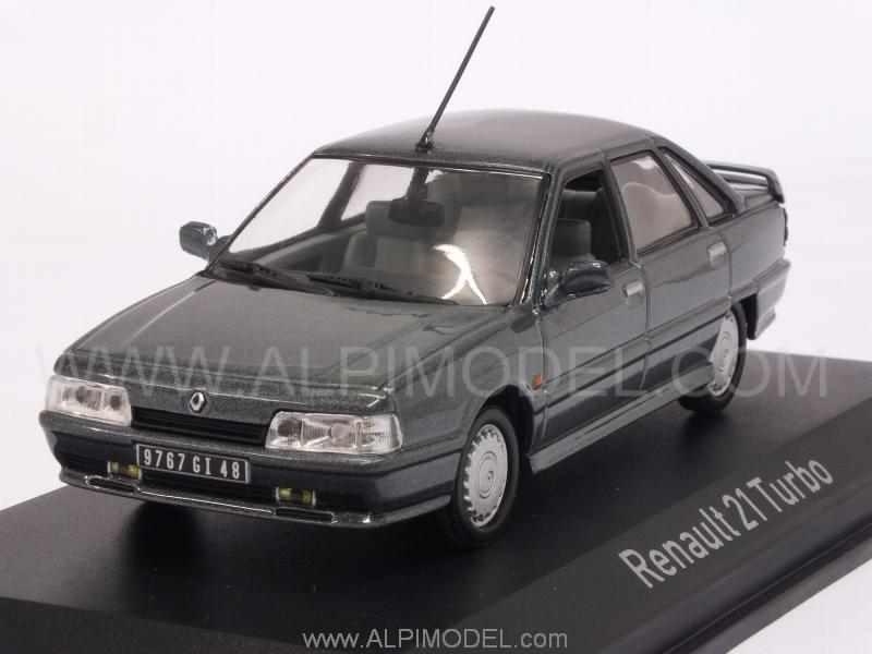Renault 21 Turbo 1998 (Anthracite Grey Metallic) by norev