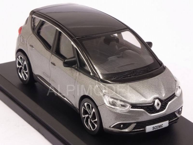 Renault Scenic 2016 (Cassiopee Grey/Black) - norev