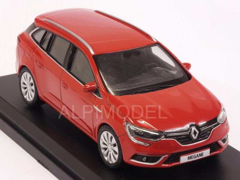 Renault Megane Estate 2016 (Red) - norev