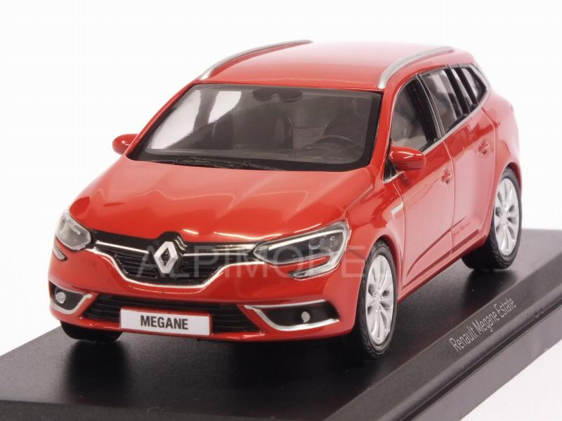 Renault Megane Estate 2016 (Red) by norev