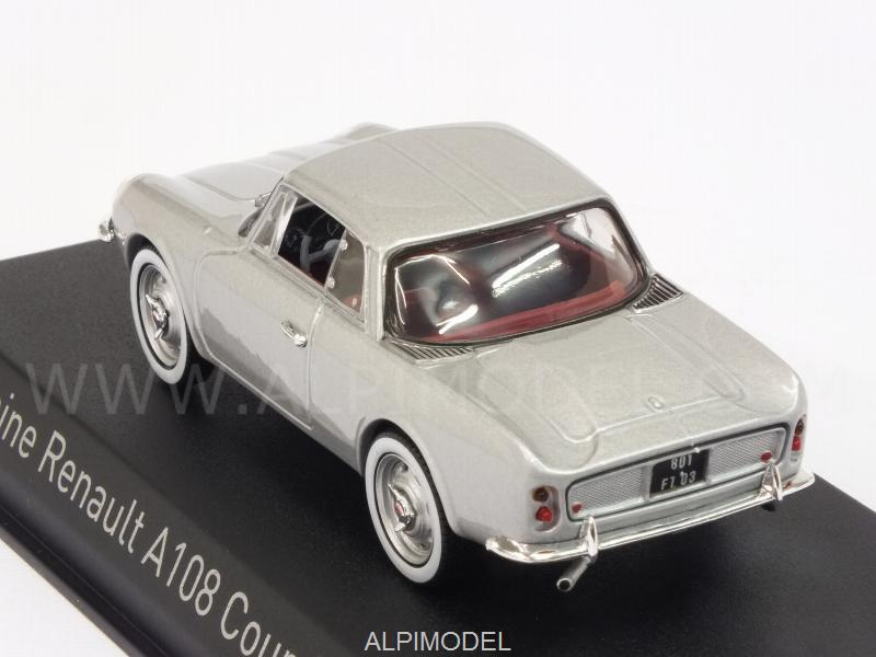 Alpine A108 Renault Coupe 2+2 1961 (Silver) - norev
