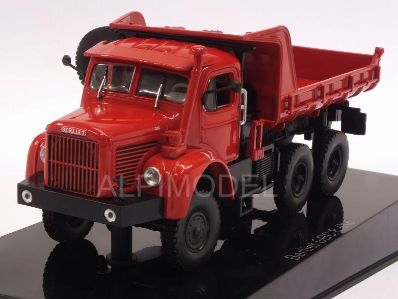Berliet GBC8 6x6 Truck 1958 (Red) by norev
