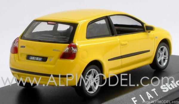 norev fiat stilo 3 porte yellow 1 43 scale model. Black Bedroom Furniture Sets. Home Design Ideas