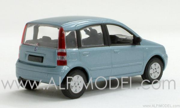 norev fiat panda 2003 azzurro frizzante 1 43 scale model. Black Bedroom Furniture Sets. Home Design Ideas