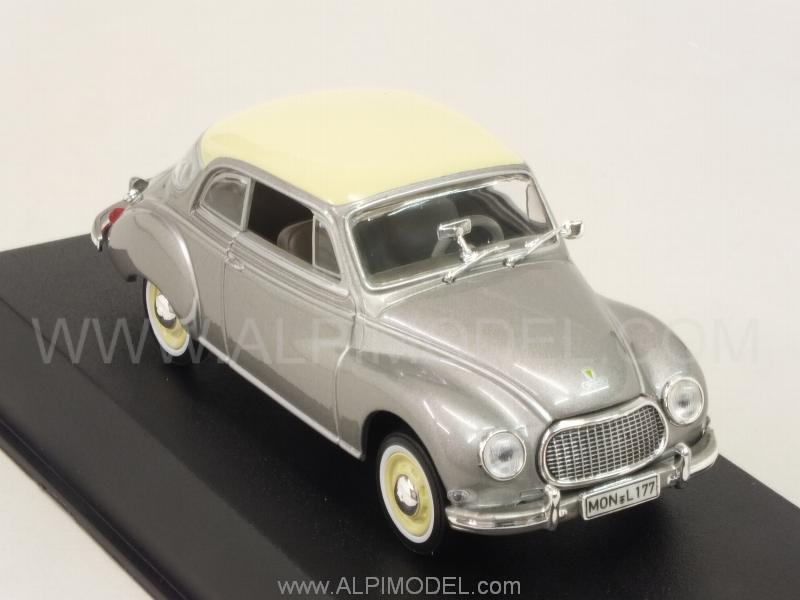 Auto Union DKW 3=6 Coupe 1958 (Grey Metallic) - norev