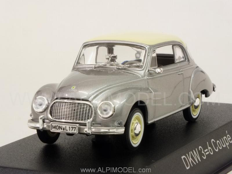 Auto Union DKW 3=6 Coupe 1958 (Grey Metallic) by norev