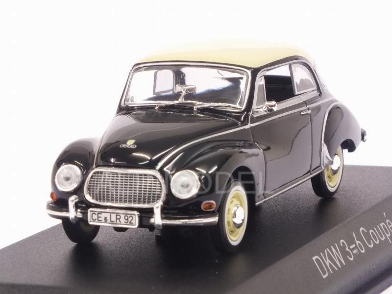 DKW 3=6 Coupé 1958 Black  1//43 NOREV 820313