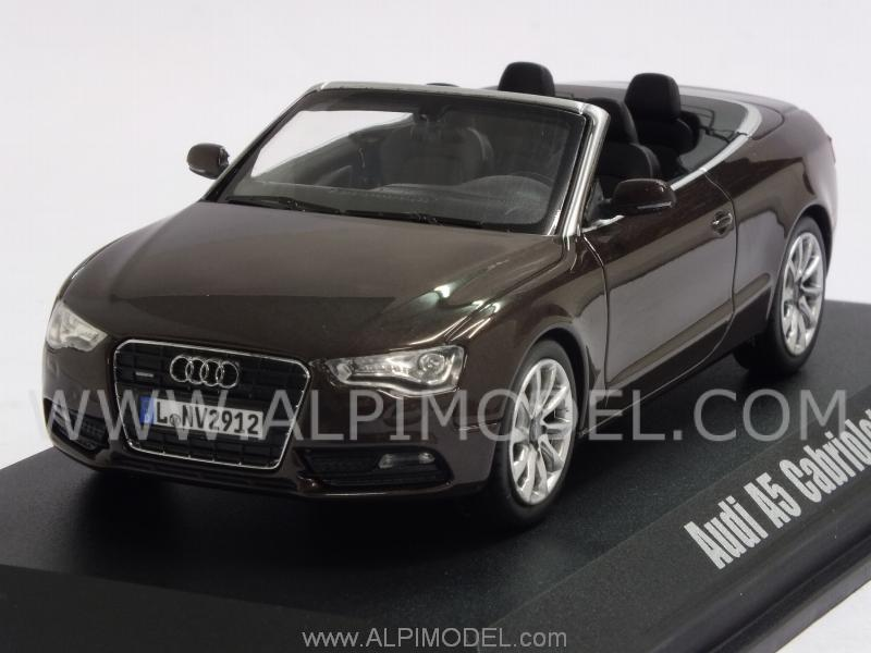 Audi A5 Cabrio 2012 (Teakbrown Metallic) by norev