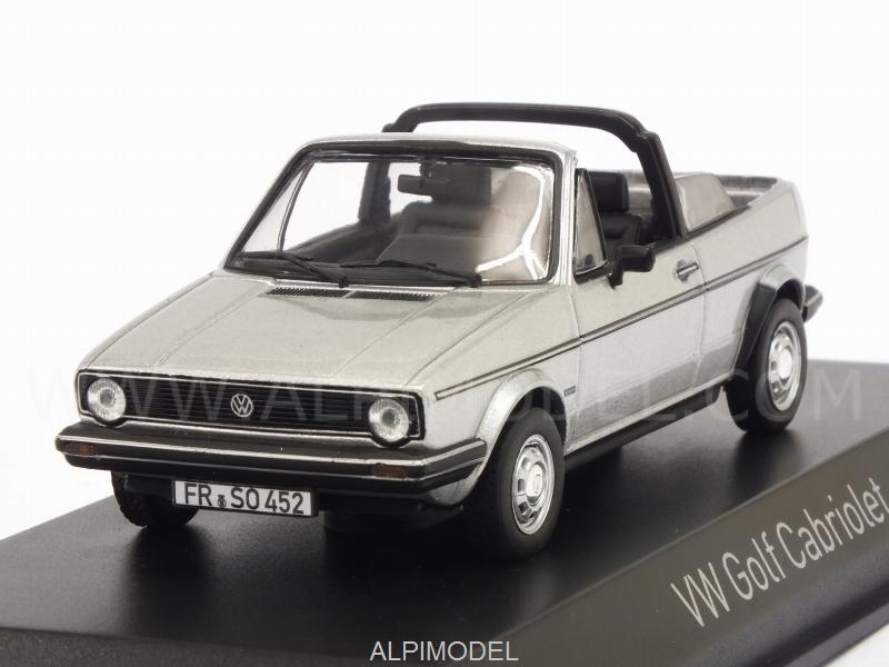 Vw Golf Cabriolet 1981 (Silver) by norev