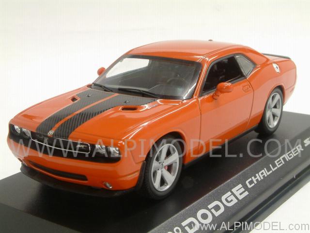 2015 Challenger >> norev Dodge Challenger Coupe SRT8 2008 (Orange) (1/43 scale model)