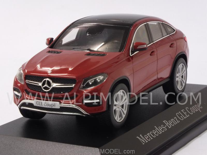 Norev B66960357 Mercedes Gle Class Coupe 2015 Designo Hyacinth Red