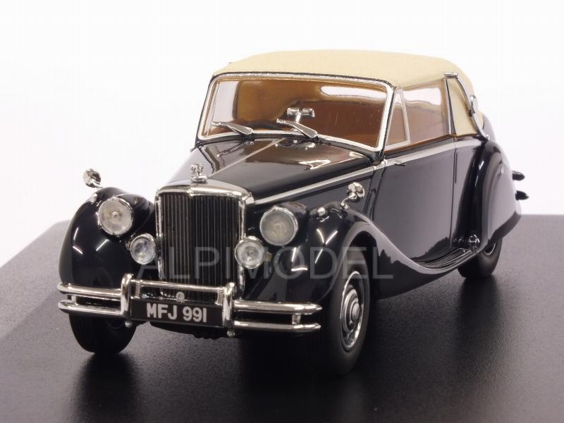 Jaguar MkV closed (Dark Blue) by oxford