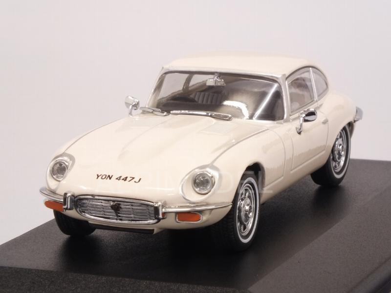 Jaguar E-Type Coupe' V12 (Old English White) by oxford