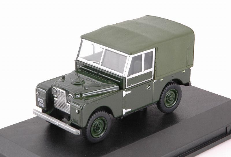 Land Rover Series I 88 Soft Top (Green) by oxford