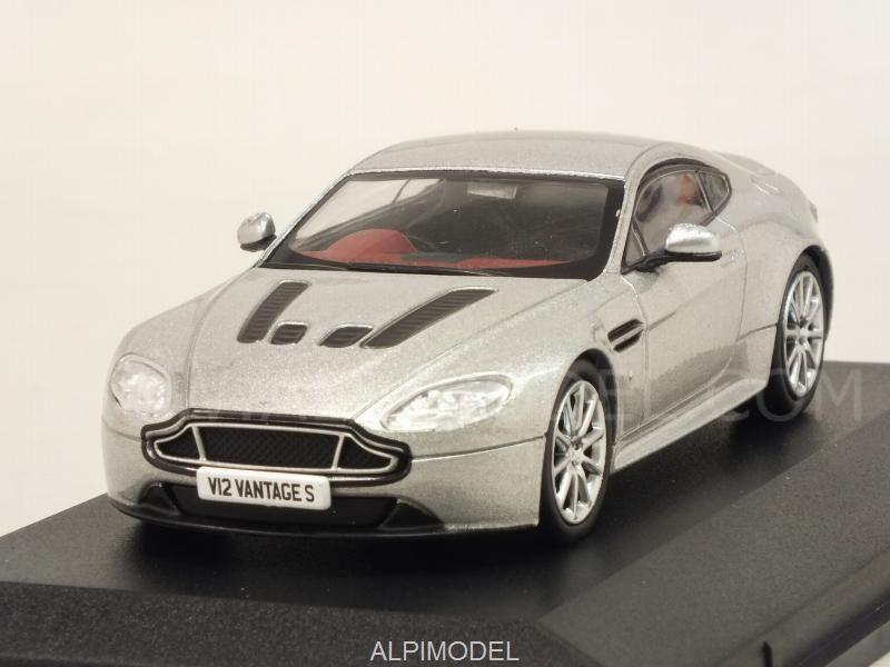 Aston Martin V12 Vantage S (Lightning Silver) by oxford