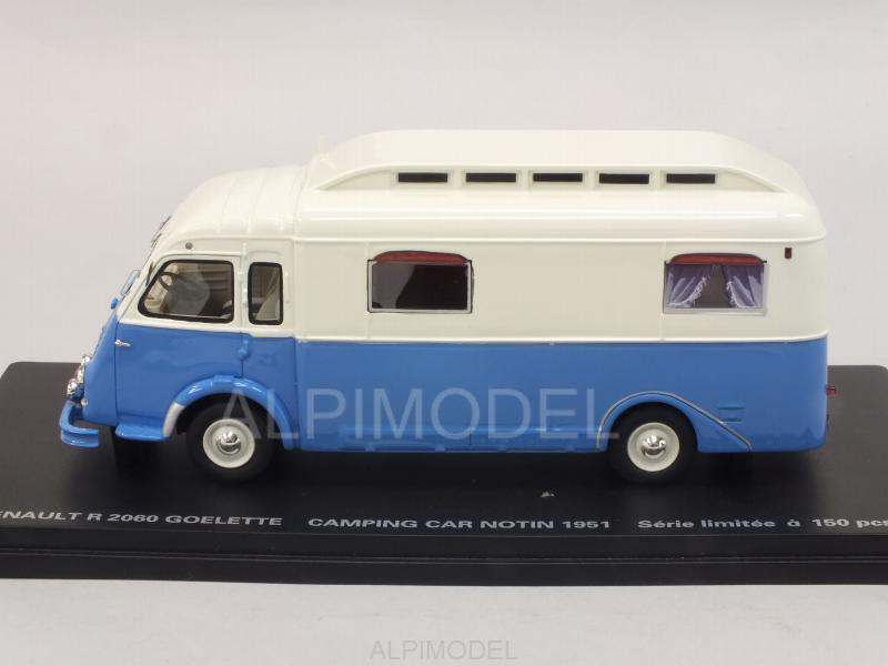 Renault Goelette Camping Car Notin 1951 - perfex