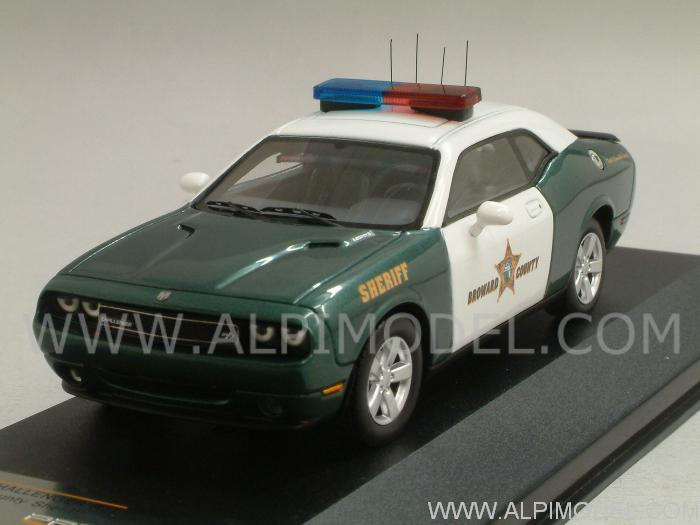 Dodge Challenger R/T Broward County Sheriff by premium-x