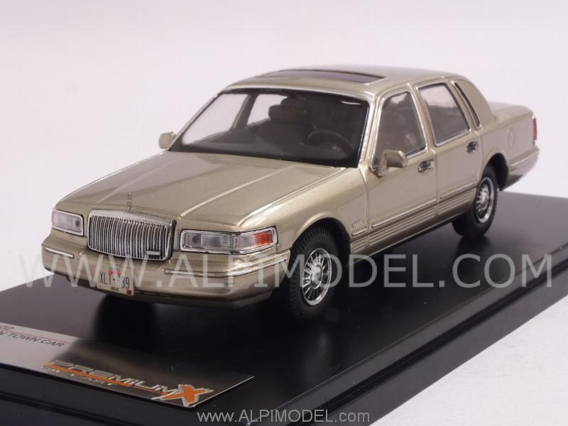 Lincoln Town Car 1996 (Champagne) by premium-x