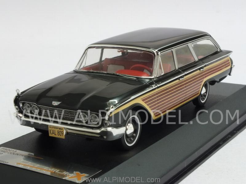 premium-x Ford Country Squire 1960 (Black) (1/43 scale model)