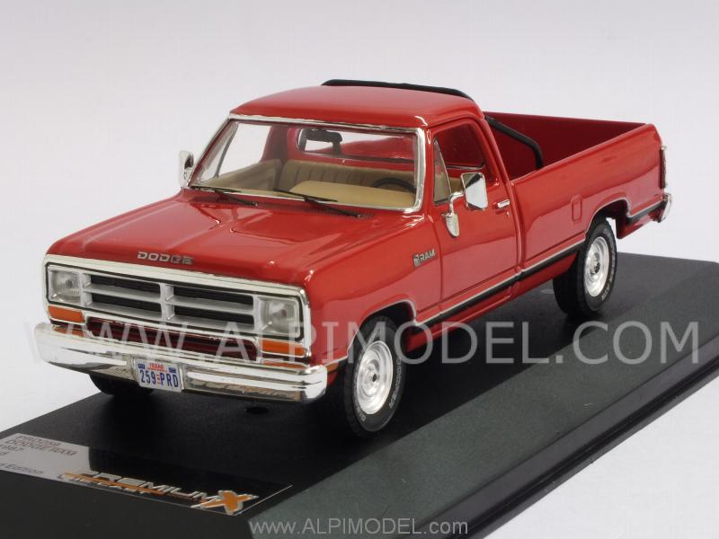 Dodge Ram 1987 (Red) by premium-x