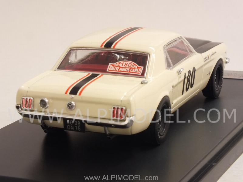 Ford Mustang #180 Rally Monte Carlo 1965 Geminiani - Anquetil - premium-x