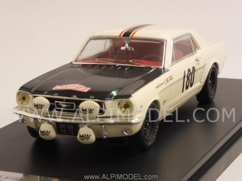 Ford Mustang #180 Rally Monte Carlo 1965 Geminiani - Anquetil by premium-x