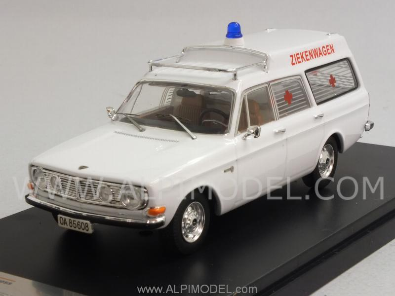 Premium X Volvo 145 Express 1971 Dutch Ambulance 1 43