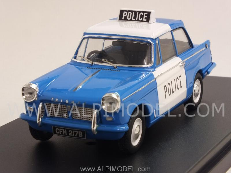 Triumph Herald Saloon 1959 UK Police by premium-x