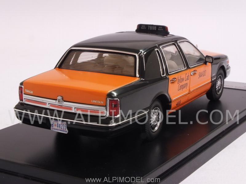 Premium X Prd363 Lincoln Town Car 1996 Usa Taxi 1 43
