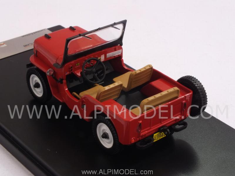 Jeep Willys CJ3B 1953 (Red) - premium-x