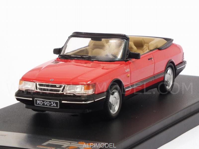 Saab 900 Turbo Cabriolet 1991 (Red) by premium-x