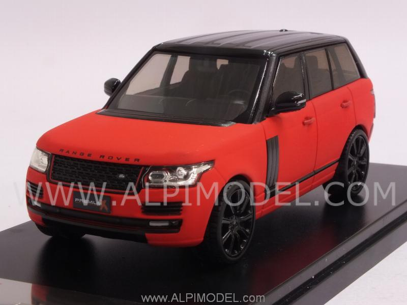 Range Rover 2013 (Fluorescent Red Matt) by premium-x